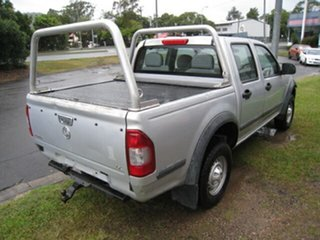 2004 Holden Rodeo RA LX Silver 4 Speed Automatic Crew Cab Pickup