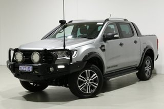 2020 Ford Ranger PX MkIII MY20.25 Wildtrak 3.2 (4x4) Silver 6 Speed Automatic Double Cab Pick Up.