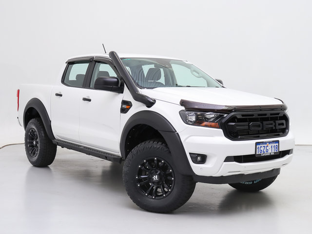 Used Ford Ranger PX MkIII MY20.75 XLS 3.2 (4x4), 2020 Ford Ranger PX MkIII MY20.75 XLS 3.2 (4x4) White 6 Speed Automatic Double Cab Pick Up