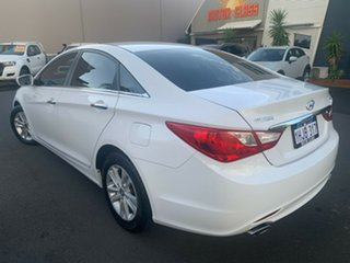 2012 Hyundai i45 YF MY11 Elite White 6 Speed Sports Automatic Sedan.