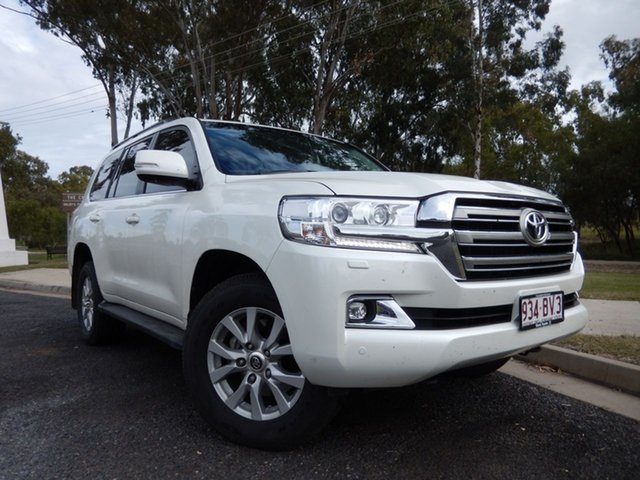 Pre-Owned Toyota Landcruiser VDJ200R MY16 VX (4x4) Dalby, 2016 Toyota Landcruiser VDJ200R MY16 VX (4x4) Crystal Pearl 6 Speed Automatic Wagon