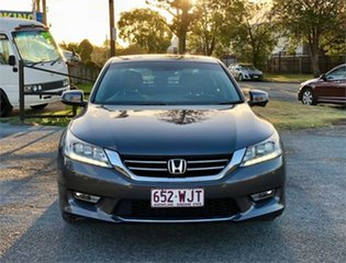 2014 Honda Accord 9th Gen VTi-L Grey 5 Speed Sports Automatic Sedan.