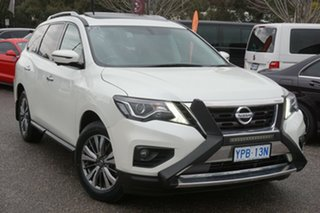 2017 Nissan Pathfinder R52 Series II MY17 ST-L X-tronic 2WD White 1 Speed Constant Variable Wagon.