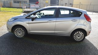 2010 Ford Fiesta WT LX Silver 6 Speed Automatic Hatchback