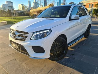 2017 Mercedes-Benz GLE-Class W166 808MY GLE350 d 9G-Tronic 4MATIC White 9 Speed Sports Automatic.