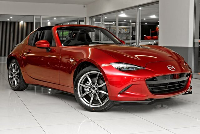 Demo Mazda MX-5 ND GT RF SKYACTIV-MT Waitara, 2021 Mazda MX-5 ND GT RF SKYACTIV-MT Red 6 Speed Manual Targa