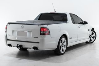 2010 Holden Ute VE MY10 SS V White 6 Speed Sports Automatic Utility.