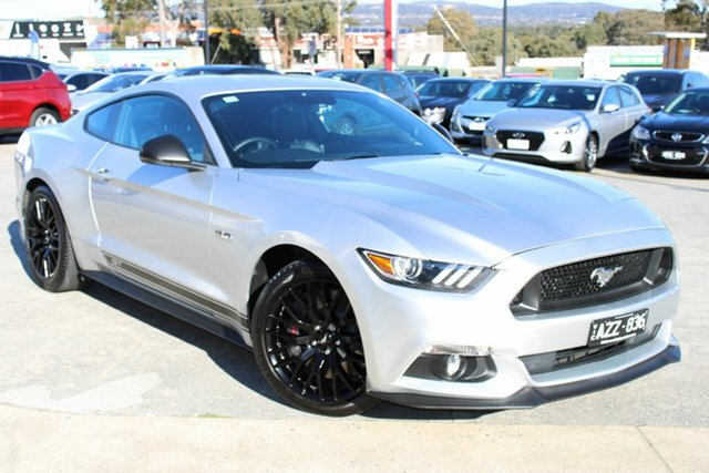 Used Ford Mustang FM GT Fastback SelectShift Ferntree Gully, 2016 Ford Mustang FM GT Fastback SelectShift Billet Silver 6 Speed Sports Automatic Fastback