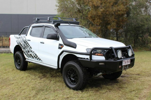 Used Ford Ranger PX MkII 2018.00MY XL Ormeau, 2017 Ford Ranger PX MkII 2018.00MY XL White 6 Speed Sports Automatic Utility