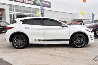 2018 Infiniti Q30 H15 Sport Premium D-CT Moonlight White 7 Speed Sports Automatic Dual Clutch Wagon.