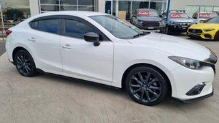 2016 Mazda 3 BM5238 SP25 SKYACTIV-Drive Snowflake White 6 Speed Sports Automatic Sedan