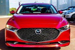 2021 Mazda 3 BP2S7A G20 SKYACTIV-Drive Evolve Red 6 Speed Sports Automatic Sedan.