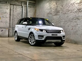 2017 Land Rover Range Rover Sport L494 17MY HSE White 8 Speed Sports Automatic Wagon.