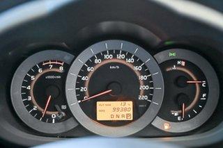 2011 Toyota RAV4 ACA38R MY11 CV 4x2 Silver 4 Speed Automatic Wagon