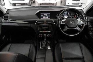 2011 Mercedes-Benz C-Class W204 MY11 C200 CDI BlueEFFICIENCY 7G-Tronic + Elegance Black 7 Speed.
