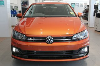 2021 Volkswagen Polo AW MY21 85TSI DSG Comfortline Orange 7 Speed Sports Automatic Dual Clutch.
