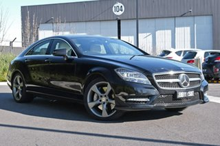 2014 Mercedes-Benz CLS-Class C218 MY14 CLS500 Coupe 7G-Tronic + Avantgarde 10 Edition Black 7 Speed.