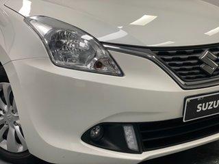 2018 Suzuki Baleno EW GL Arctic White 4 Speed Automatic Hatchback.