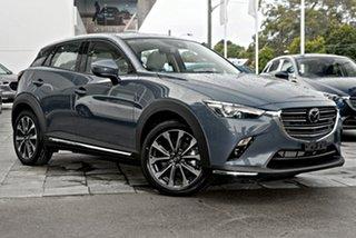 2021 Mazda CX-3 DK4W7A Akari SKYACTIV-Drive i-ACTIV AWD Grey 6 Speed Sports Automatic Wagon.