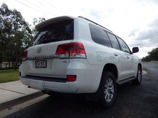 2016 Toyota Landcruiser VDJ200R MY16 VX (4x4) Crystal Pearl 6 Speed Automatic Wagon.