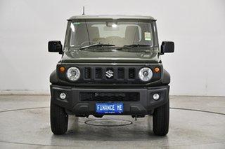 2021 Suzuki Jimny JB74 GLX Green 4 Speed Automatic Hardtop.