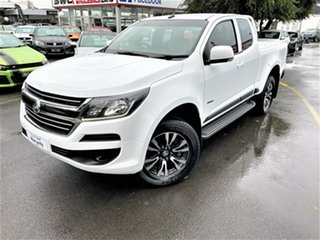 2018 Holden Colorado RG MY18 LS Pickup Crew Cab 4x2 White 6 Speed Sports Automatic Utility