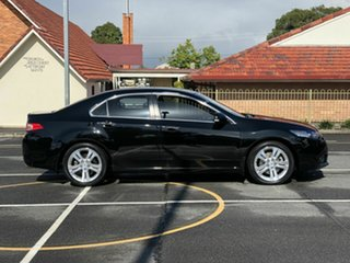 2013 Honda Accord Euro CU MY13 Luxury Navi Black 5 Speed Automatic Sedan.