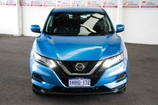 2018 Nissan Qashqai J11 MY18 ST Blue Continuous Variable Wagon.