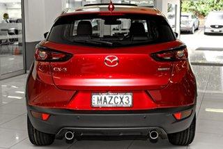 2021 Mazda CX-3 DK2W7A Akari SKYACTIV-Drive FWD Red 6 Speed Sports Automatic Wagon