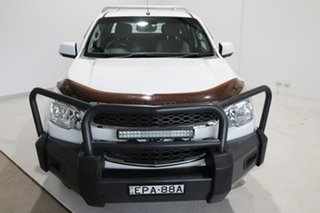2013 Holden Colorado RG MY14 LX Crew Cab White 6 Speed Sports Automatic Cab Chassis