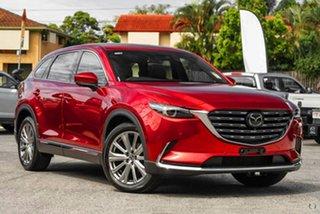2021 Mazda CX-9 TC Azami SKYACTIV-Drive Red 6 Speed Sports Automatic Wagon.