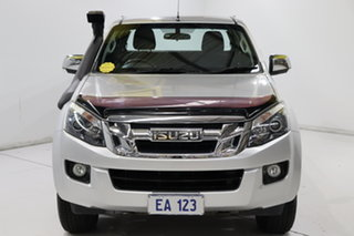 2014 Isuzu D-MAX TF MY15 LS-U HI-Ride (4x4) Silver 5 Speed Automatic Space Cab Utility.