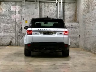 2017 Land Rover Range Rover Sport L494 17MY HSE White 8 Speed Sports Automatic Wagon