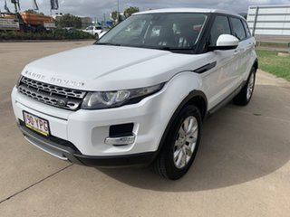 2015 Land Rover Range Rover Evoque L538 MY15 Pure White/220515 9 Speed Sports Automatic Wagon