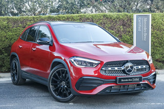 2020 Mercedes-Benz GLA-Class H247 800+050MY GLA250 DCT 4MATIC Patagonia Red 8 Speed.