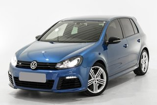 2012 Volkswagen Golf VI MY12.5 R 4MOTION Blue 6 Speed Manual Hatchback.