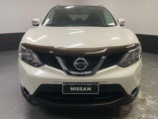 2016 Nissan Qashqai J11 TL Ivory Pearl 1 Speed Constant Variable Wagon.