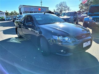 2013 Ford Falcon FG MkII XR6 Ute Super Cab EcoLPi Grey 6 Speed Sports Automatic Utility.