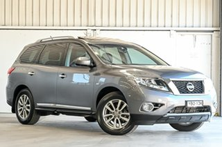 2016 Nissan Pathfinder R52 MY15 ST-L X-tronic 2WD Grey 1 Speed Constant Variable Wagon.