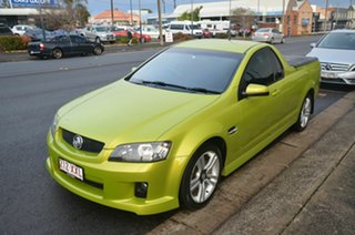 2008 Holden Commodore VE MY09.5 SV6 Green 6 Speed Manual Utility