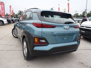 2018 Hyundai Kona OS MY18 Active 2WD Ceramic Blue 6 Speed Sports Automatic Wagon.