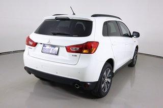 2014 Mitsubishi ASX XB MY14 (4WD) White 6 Speed Automatic Wagon