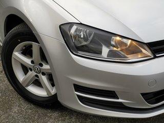 2013 Volkswagen Golf VII 90TSI DSG Silver 7 Speed Sports Automatic Dual Clutch Hatchback.