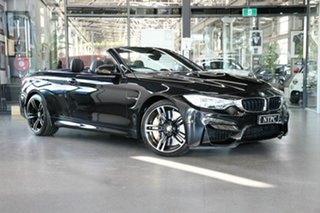2016 BMW M4 F83 M-DCT Black 7 Speed Sports Automatic Dual Clutch Convertible.