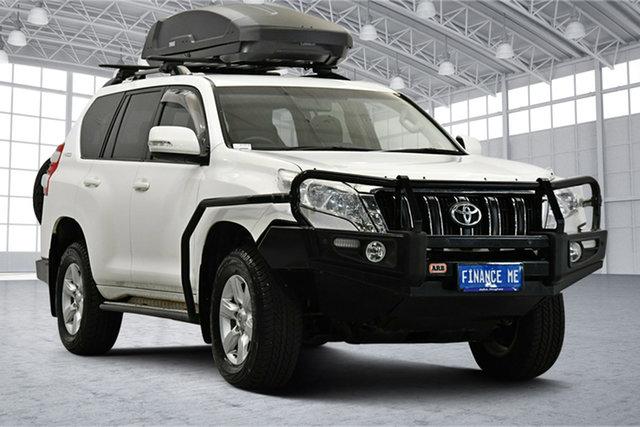 Used Toyota Landcruiser Prado GDJ150R GXL Victoria Park, 2015 Toyota Landcruiser Prado GDJ150R GXL White 6 Speed Sports Automatic Wagon