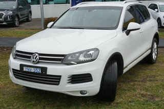 2012 Volkswagen Touareg 7P MY12.5 150TDI Tiptronic 4MOTION White 8 Speed Sports Automatic Wagon