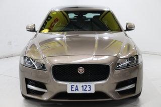 2016 Jaguar XF X260 MY16 R-Sport Bronze 8 Speed Sports Automatic Sedan.