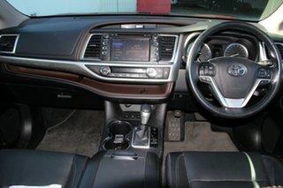 2018 Toyota Kluger GSU55R Grande AWD Merlot Red 8 Speed Sports Automatic Wagon