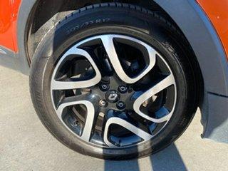 2016 Renault Captur J87 Dynamique EDC Orange 6 Speed Sports Automatic Dual Clutch Hatchback.