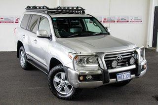 2013 Toyota Landcruiser URJ202R MY13 Sahara (4x4) Silver Pearl 6 Speed Automatic Wagon.